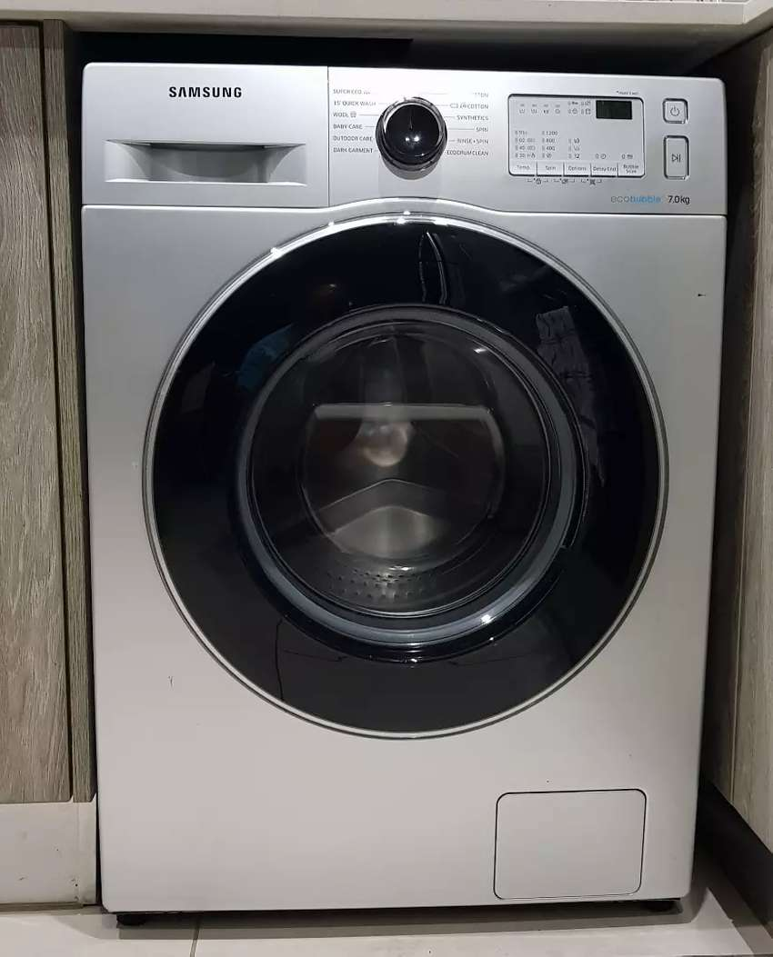 1 Year Old - 7kg Samsung Ecobubble Washing Machine 0