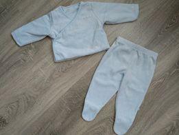 Велюровый костюм пижамка человечек 3-7 месяцев