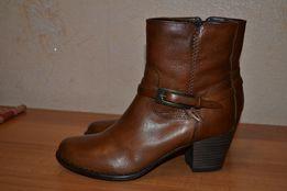 Ботинки кожаные TERVOLINA