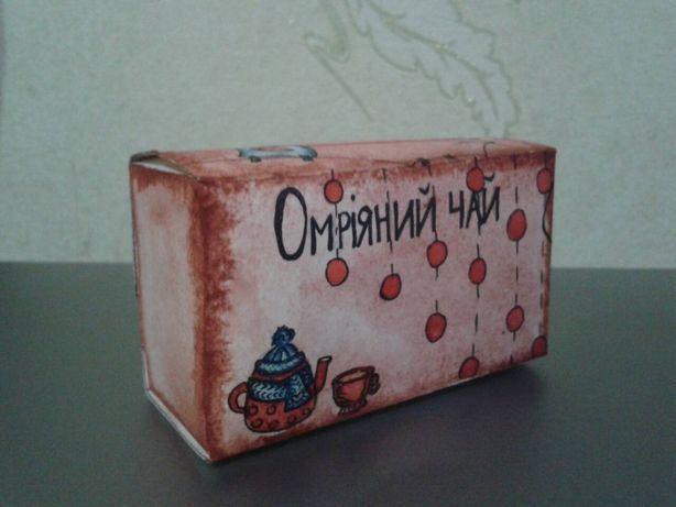 Чай / коробочка ручной работы/ оригинальный и бюджетный подарок
