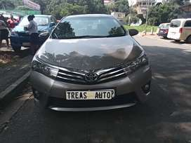 2014 TOYOTA COROLLA PRESTIGE WITH AN ENGINE CAPACITY OF 1,6