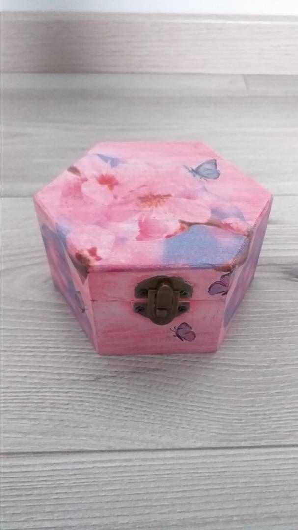 Decoupage ukrasna kutija 0