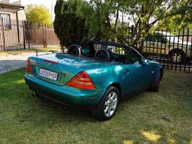 1997 Merc SLK200 as good as new. Only have 120K on the clock