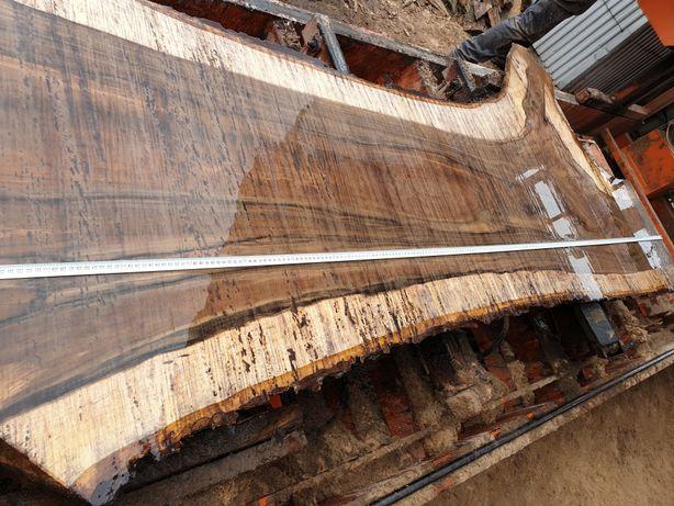 Blat drewniany dębowy stół kuchnia łazienka live edge dąb lite loft Bielsko-Biała - image 5