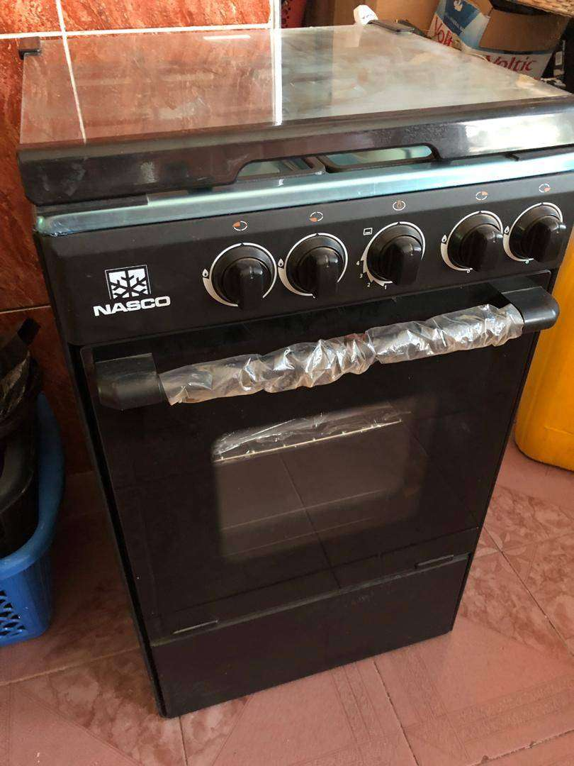 NASCO 4 BURNER GAS COOKER 0