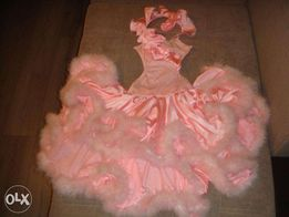 Платье для бальных (Латина) танцев.