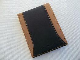 Portfel męski Pierre Cardin Hunter brązowy w metalowym pudełku skórzan
