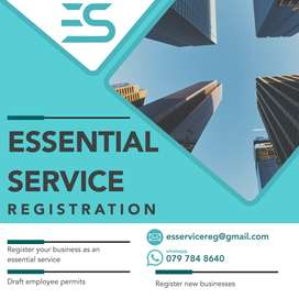 Essential Service Registrations