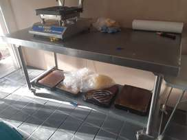 Shelving & Catering Table