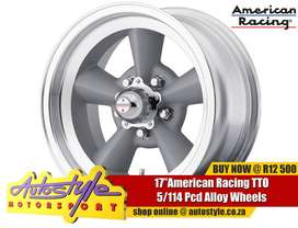 """17"""" american racing muscle car classic vintage alloy rims brand new ma"""