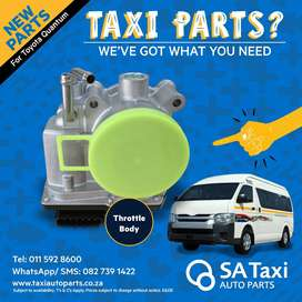 New Throttle Body suitable for Toyota Quantum - SA Taxi Auto Parts