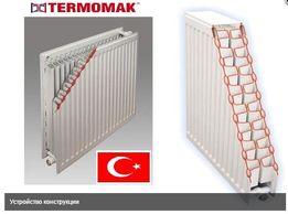 Батареи радиаторы стальные Турция TERMOMAK от поставщика