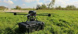 Грузовий дрон коптер безпілотник квадрокоптер для доставки груза відео