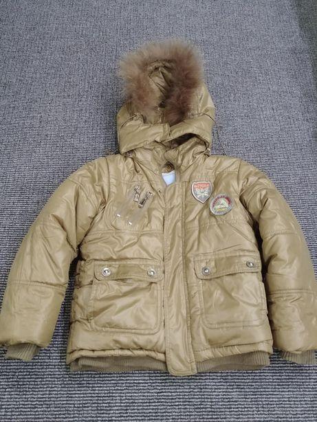 Продам зимний тёплый костюм на рост 104-110 см. На фото ребёнок 116см Харьков - изображение 4