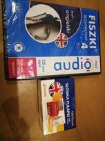 Fiszki język angielski audio, słówka pułapki
