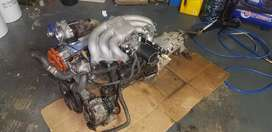 M20b20 turbo + gearbox