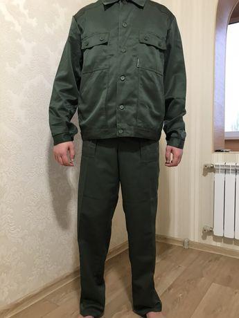 Костюм рабочий, куртка брюки, комбинезон, спецодежда, комплект мужской