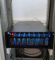 Сервер 19' (Ферма) для майнинга 8 х RX580 4Gb