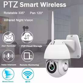 Indoor / Outdoor WIFI Camera With Night Vision & Motion Control