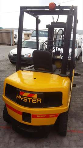 Hyster forklift 2.5tons diesel with container mast