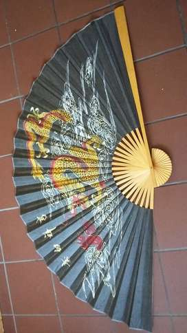 Chinese fans and umbrellas