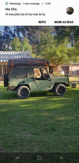 Chev nomad with rooftop tent