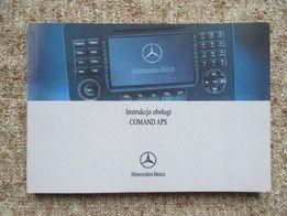 Instrukcja obsługi COMAND APS do Mercedesów