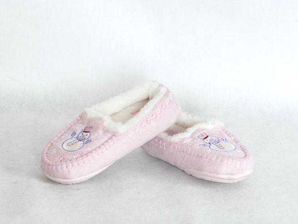 M&S NOWE kapcie dla dziewczynki kożuszek 23 14,5 cm Lubaczów - image 1