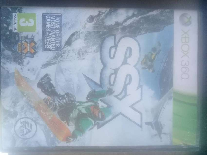 XBox 360 game - SSX 0