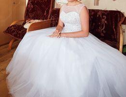 Suknia ślubna biała r38