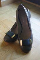 Eleganckie buty całe skórzane Błażej