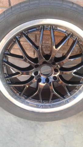 18inch multi4hole spoke mags n tyres