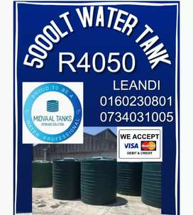 5000Lt Back Up Water Tank