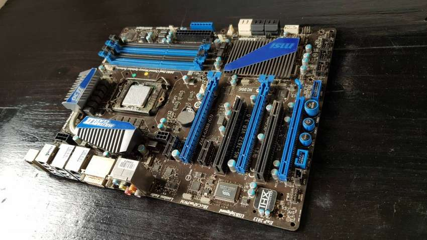 Military class 2 OC genie 2 gaming motherboard - Includes i3 processor 0