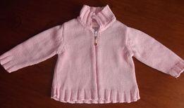 Sweterek rozpinany Tupfel Roz. 68 (P113