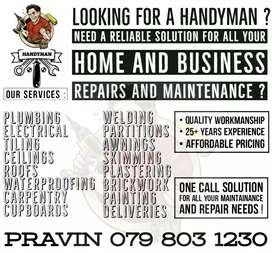 Household Repairs and Maintenance
