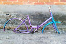 Рама велосипедная + запчасти в подарок