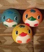 Резиновые мячики для купания