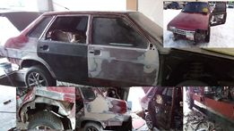 Кузовной ремонт, покраска авто,
