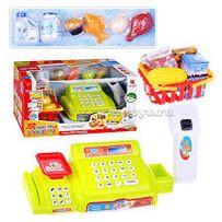 Детская интерактивная касса Кассовый аппарат 888А-888А