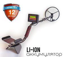Металлоискатель импульсный Clone PI-AVR Клон 1,9-3 метра ЖК дисплей