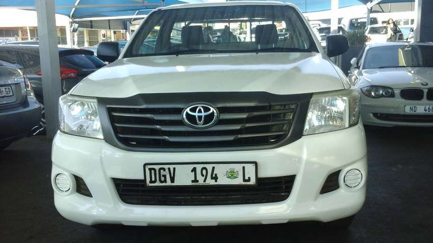 Used 2015 TOYOTA HILUX 2.5D4D SINGLE CAB 0