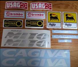 Decals stickers graphics kit for a 2001 Cagiva Mito 125