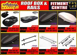 Roof storage boxes, roof racks, gain extra loading space. fitted whil