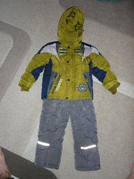 Детский зимний комбинезон(куртка + штаны)