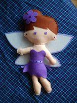 подарок подарунок лялька кукла фея фетр