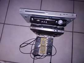 DVD player's for sale selling as skrap parts