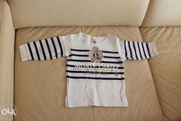 Śliczna praktycznie nowa bluza kupiona w Monaco rozmiar 1 rok