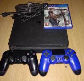 Ps4 slim 500gig with 1 controle for sale