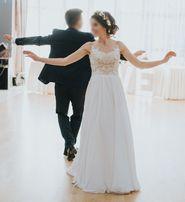 Suknia ślubna w stylu rustykalnym roz.34/36